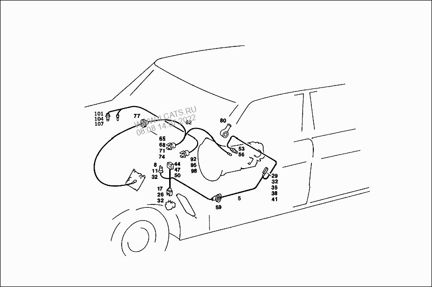ELECTRICAL PARTS USED FOR AUTOMATIC TRANSMISSION AND BACK