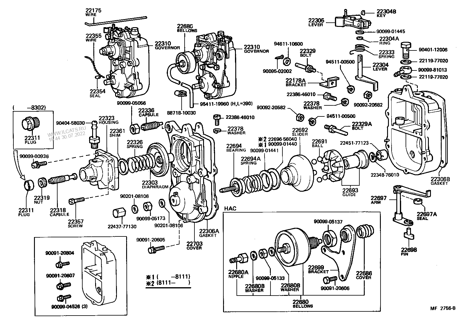 Select Parts Toyota Bj42 Wiring Diagram
